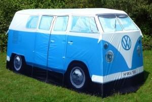 une tente de camping originale