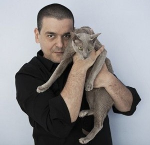 Joann Sfar et son chat