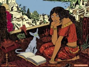 La fille du rabbin et son chat