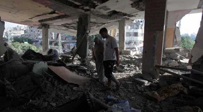 Explosion à Gaza