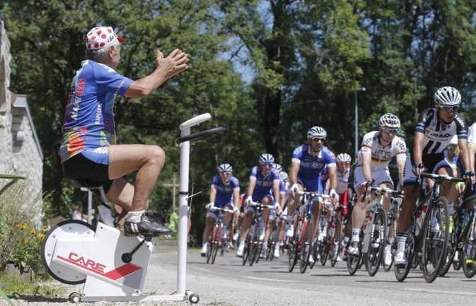 supporter du Tour de France