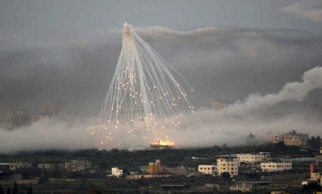 bombardement de Gaza