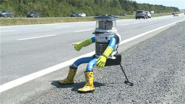 Fin de voyage pour HitchBot