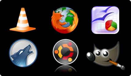 logos logiciels libres