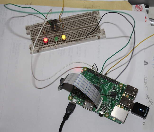interface avec Raspberry Pi
