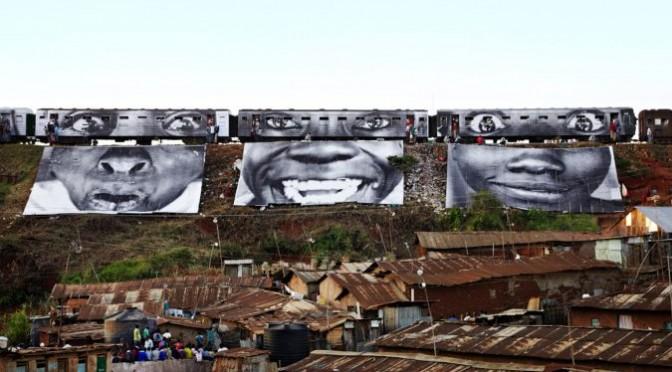 où l'on parle de street art et donc aussi de JR