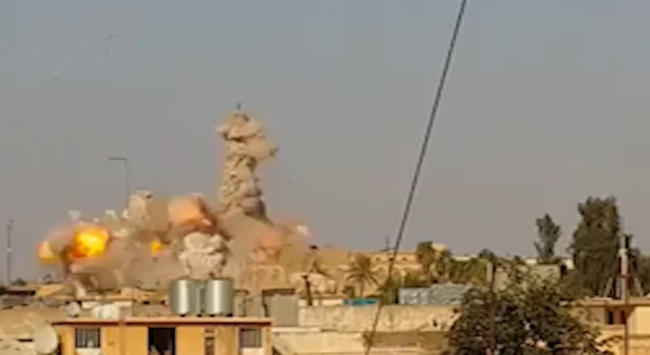 Mosquée détruite