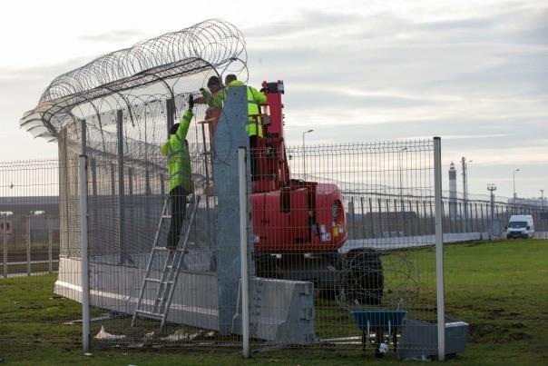 Mur à Calais