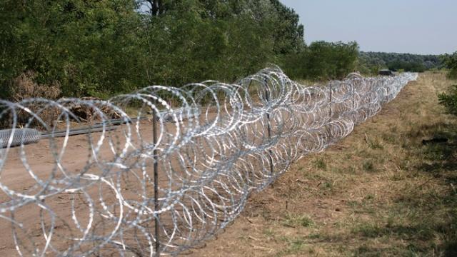 Mur en Hongrie